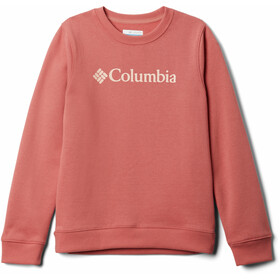 Columbia Park French Terry Langarm Rundhalsshirt Kinder dark coral